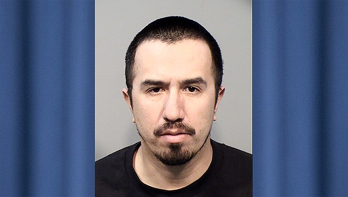 Eric Godoy, 34. (Yavapai County jail/Courtesy)
