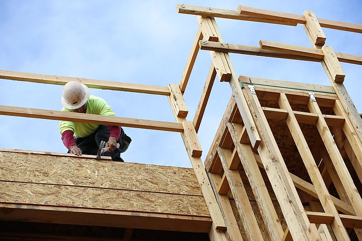 Economic reports reveal a significant boost in construction. (Ross D. Franklin/AP)