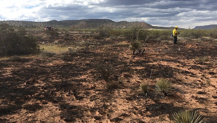 UPDATE: Firefighters extinguish 6-acre fire off Bill Gray Road (with video)