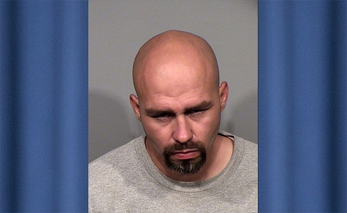 Jose Montoya, 29, was arrested after allegedly stealing a taxicab and running from police in it Thursday night, May 16. (Prescott Valley Police Department/Courtesy)