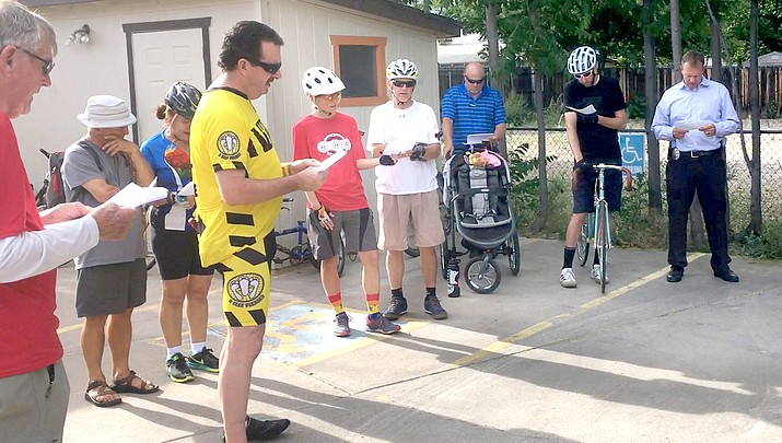 Bicyclists ride to remember Cornville crash victim and others (with video)
