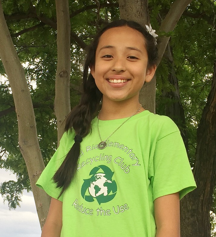 Ava Jamie is a fifth grader at Del Rio School and is this week's Student of the Week for Chino Valley Unified School District. (CVUSD/Courtesy)