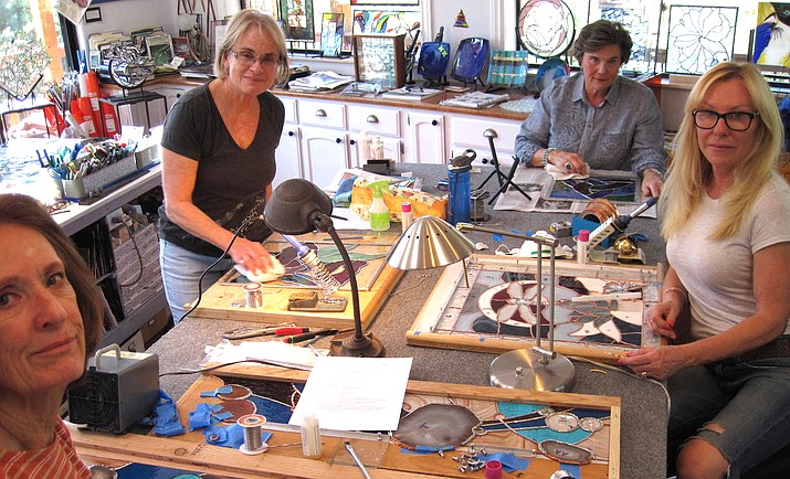 Holly Stedman will be among the Sedona-Verde Valley artists opening their studios or the Fall Open Studios Tour, which is slated for October 25-27.
