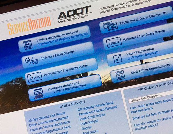 ADOT: Temporary ID card now available online | The Verde Independent |  Cottonwood, AZ