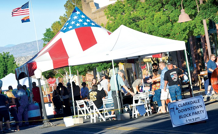 The Clarkdale Downtown Business Alliance along with the Clarkdale Foundation and the Town of Clarkdale present their first summer Block Party May 31, 6-9 p.m. VVN file photo
