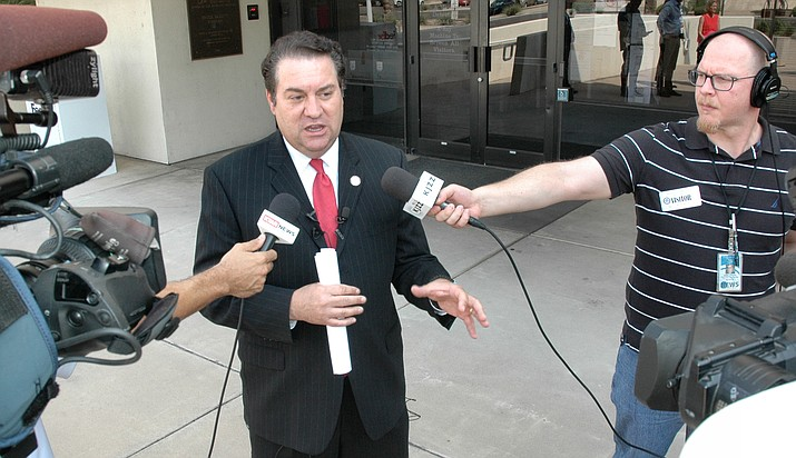 Arizona Attorney General Mark Brnovich wants the U.S. Supreme Court to deny a new trial to a man whose says bad legal advice he got in a criminal case resulted in his deportation. Capitol Media Services photo by Howard Fischer
