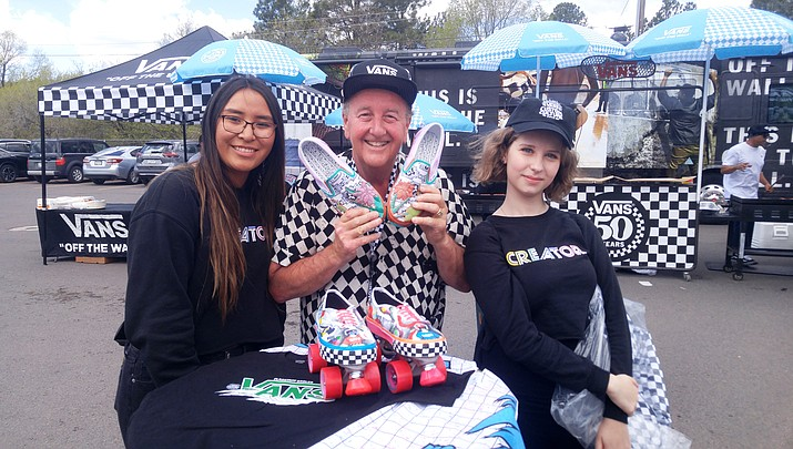 Flag High students win Vans contest