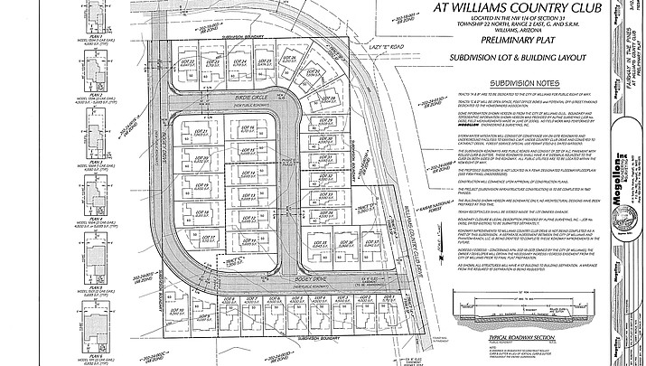 Golf Course development goes before Williams City Council June 27