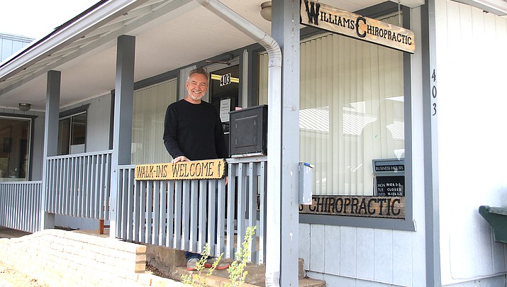 Making adjustments: Williams Chiropractic relocates