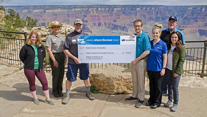 """GCC benefits from Subaru's """"Share the Love"""" campaign"""