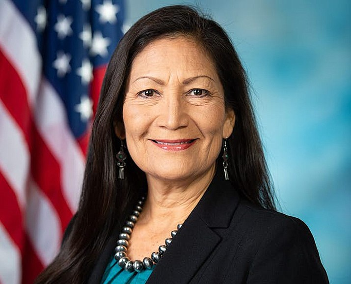 Rep. Deb Haaland (D-NM-0) helped craft Savanna's Act legislation, which aims to clarify law enforcement response to missing and murdered indigenous people. (Photo/haaland.house.gov)