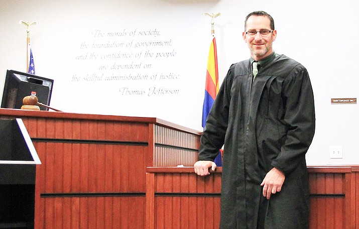 Adam Zickerman is the new magistrate judge at Williams Municipal Court. (Wendy Howell/WGCN)