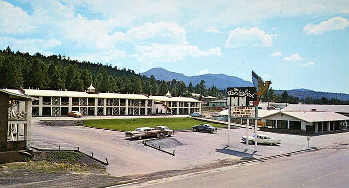 The Thunderbird Inn in Williams, circa 1950s. (Photo/Williams Historic Photo Project: Gateway to Williams History)