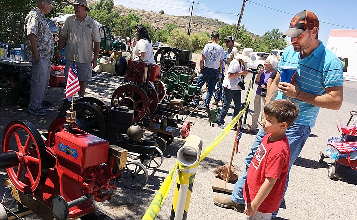 Saturday beginning at 9 a.m., McGuireville will host the sixth annual Memorial Day Tractor and Engine Show. VVN/Bill Helm