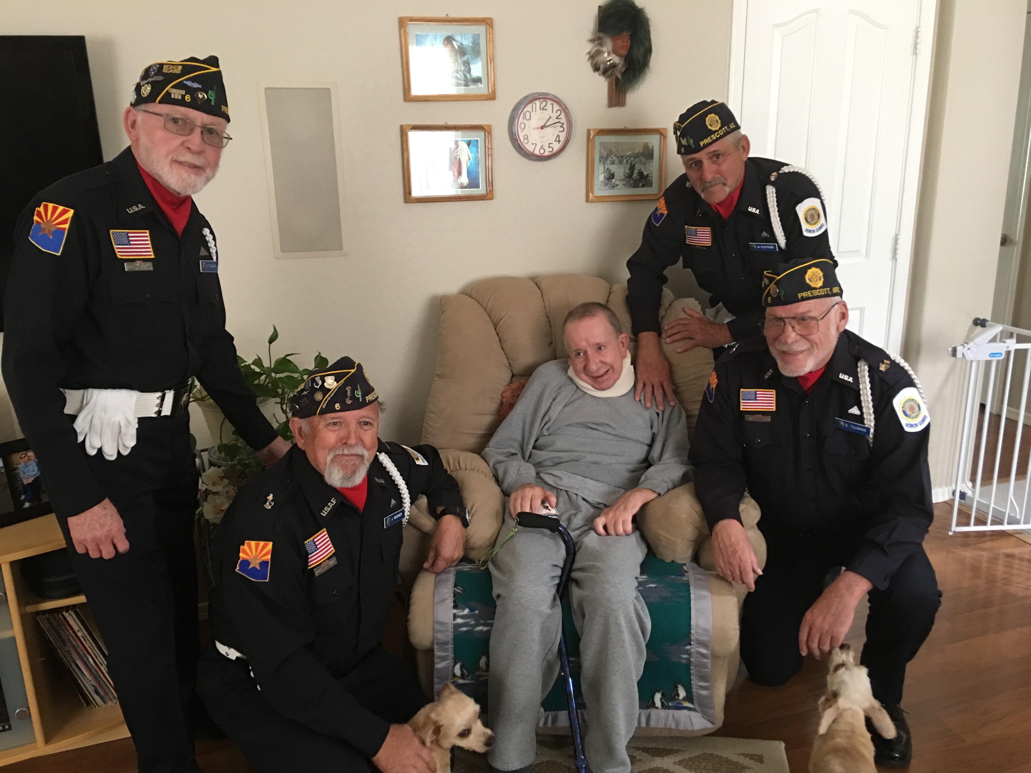 Prescott's American Legion Honor Guard honored to serve those who served the nation