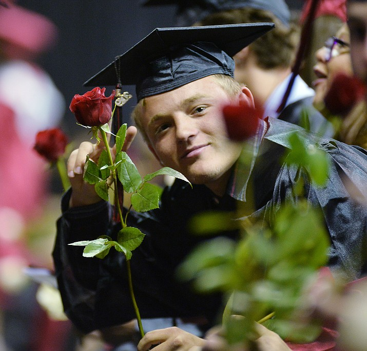 Bradshaw Mountain High School graduated 334 students in a commencement ceremony Thursday, May 23, 2019 at the Findlay Toyota Center in Prescott Valley. U.S. News and World Report has named Bradshaw Mountain one of America's top schools. (Les Stukenberg/Courier, file)