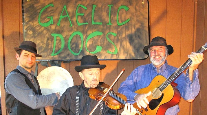 Saturday afternoon wine tasting at Vino Di Sedona on June 1 is accompanied by music by a local Celtic trio The Gaelic Dogs, 3:30-6 p.m. The Gaelic Dogs are Bill Barns, Lou Moretti, and Larry Perkins playing classic Irish songs like Black Velvet Band and Whiskey in the Jar-O.