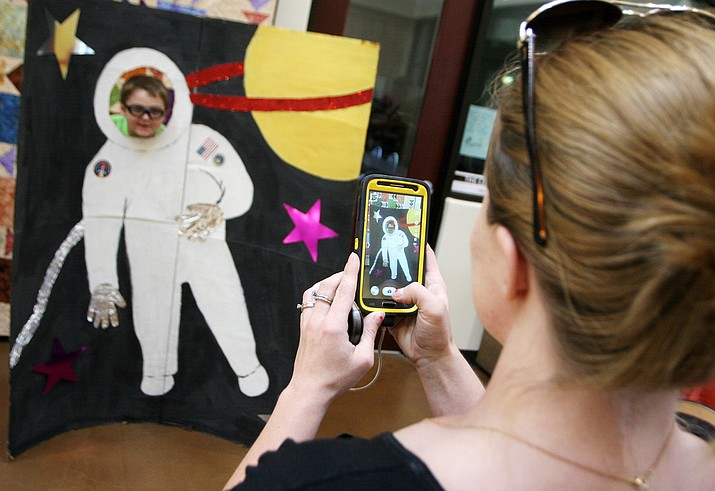"""A universe of stories"" is this year's summer reading program theme at the Cottonwood, Camp Verde and Beaver Creek libraries. VVN/Bill Helm"