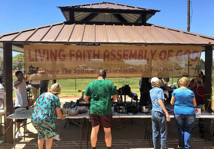 Freedom and spirit celebrated by Living Faith Assembly