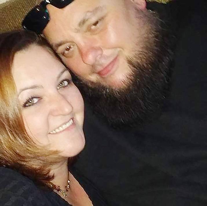 Lori and Anthony Davis. (Courtesy)
