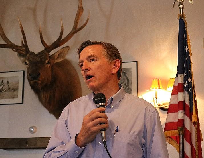 Representative Paul Gosar. (Daily Miner file photo)
