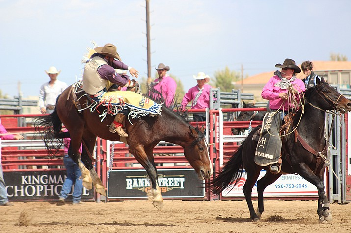 The Kingsmen Andy Devine PRCA Pro Rodeo is set for Saturday and Sunday, June 1-2, at Mohave County Fairgrounds, 2600 Fairgrounds Avenue. (Daily Miner file photo)