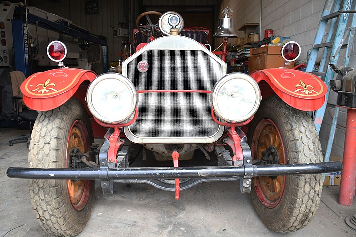 Did you know Kingman's first fire truck is still around? Kingman Fire Department is trying to raise funds to restore the 1922 American La France fire truck. (Courtesy photo)