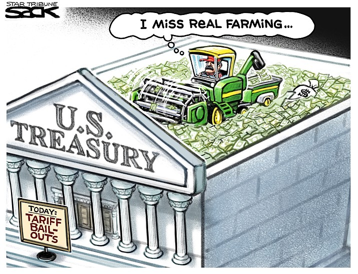 Editorial cartoon (2): June 3, 2019