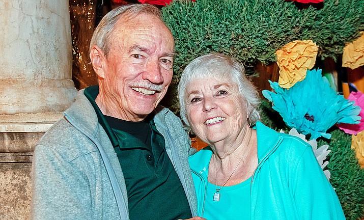 John Swingle and Jan Meyer at John's 80th birthday in April.