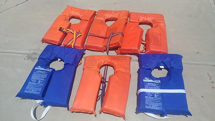This is the 11th year the department has conducted this event, when people who have old, worn out life jackets and personal flotation devices swap them for new ones. And it is free. (Courtesy)