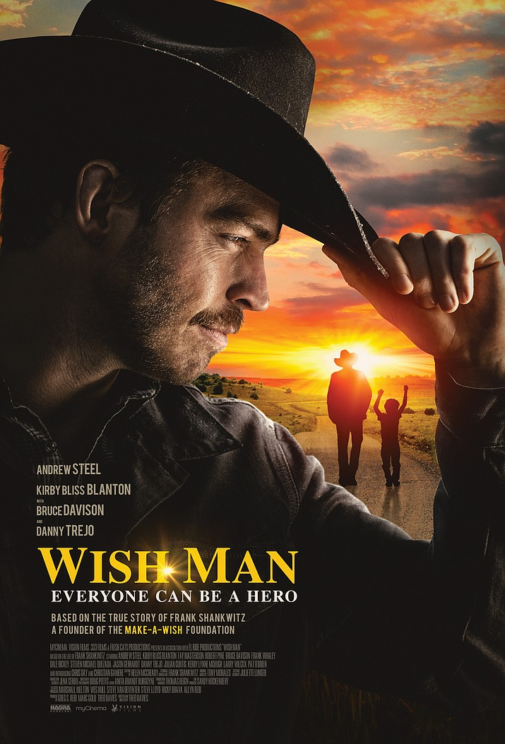 """Wish Man"" poster. (Courtesy)"