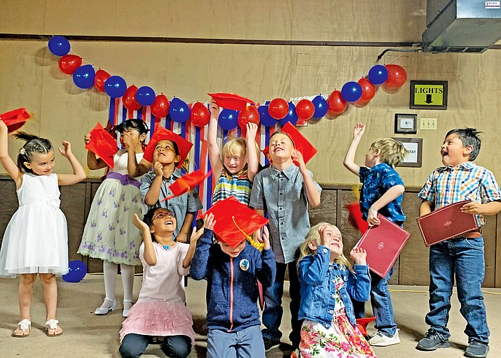 Heritage Elementary School's kindergarten promotion took place May 30. (Photos/Heritage Elementary School)