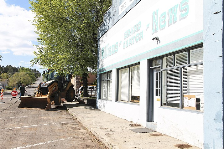 City of Williams Street Department has resumed sidewalk replacements now that the weather has warmed. (Photo/WGCN)