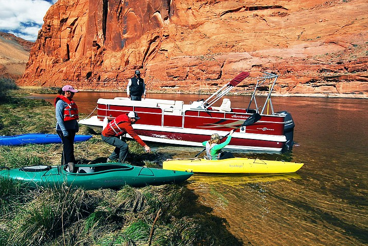 Kayak Horseshoe Bend offers kayak and paddleboard rentals on the Colorado River. (Photo/Kayak Horseshoe Bend)