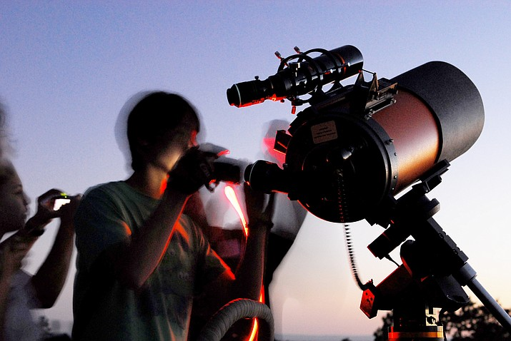 Grand Canyon's annual Star Party takes place  June 22-29. (Kristen M Caldon/NPS)