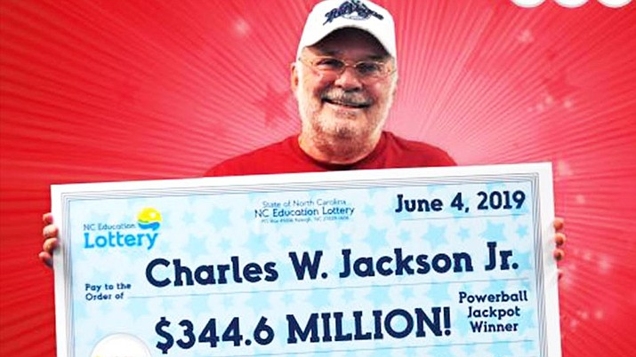 Charles W. Jackson Jr. won a $344.6 million North Carolina lottery prize after he purchased a Powerball ticket using numbers from a fortune cookie given to him from his granddaughter. (North Carolina Education lottery)
