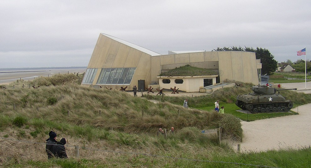The visitors center on Utah Beach photographed during a 2009 tour of the Normandie region of France. (Bill Morrison/Courtesy photo)