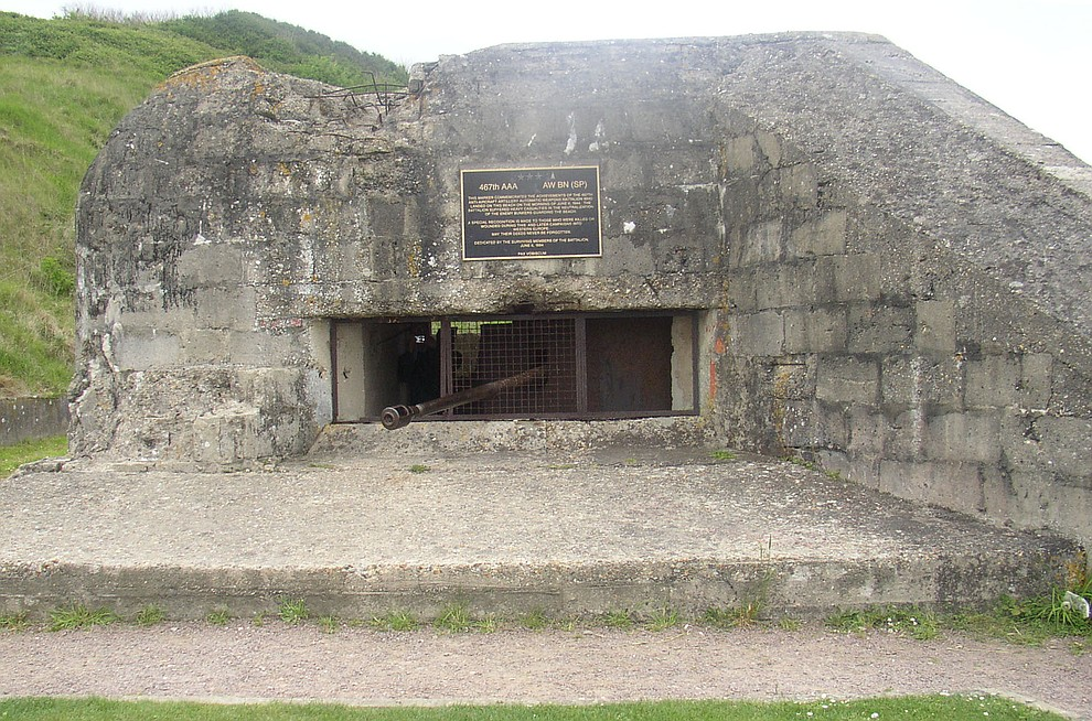A bunker on Omaha Beach photographed during a 2009 tour of the Normandie region of France. (Bill Morrison/Courtesy photo)