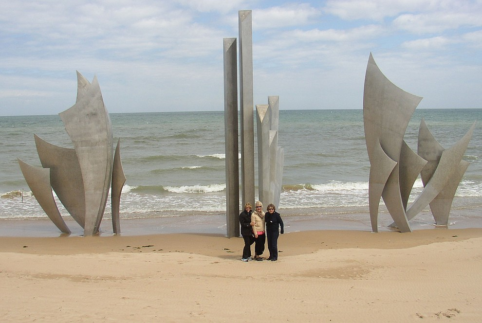 The Omaha Beach Memorial photographed during a 2009 tour of the Normandie region of France. (Bill Morrison/Courtesy photo)