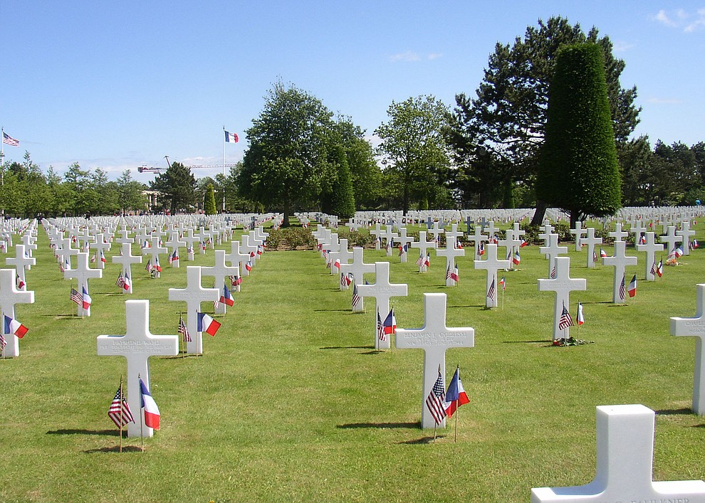 The Omaha Beach Cemetery photographed during a 2009 tour of the Normandie region of France. (Bill Morrison/Courtesy photo)