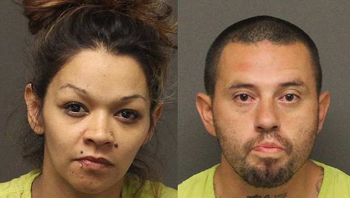 Diana David and Jared Shane Ley (Mohave County Sheriff's Office photos)