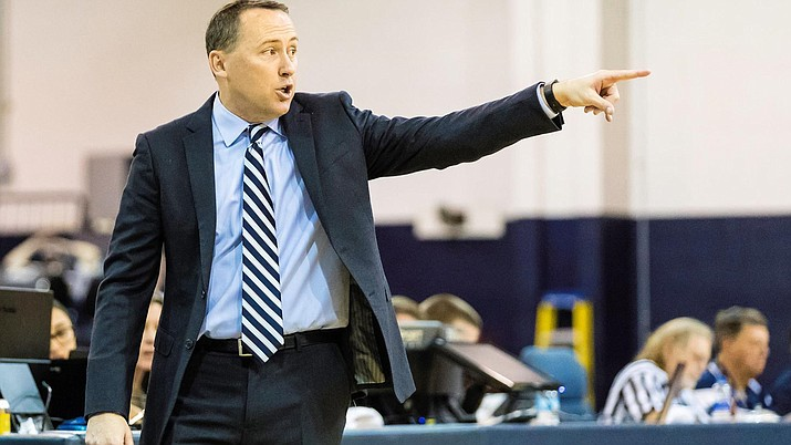 NAU head coach Jack Murphy left his post to become associate head coach at Arizona. Photo courtesy Arizona Athletics