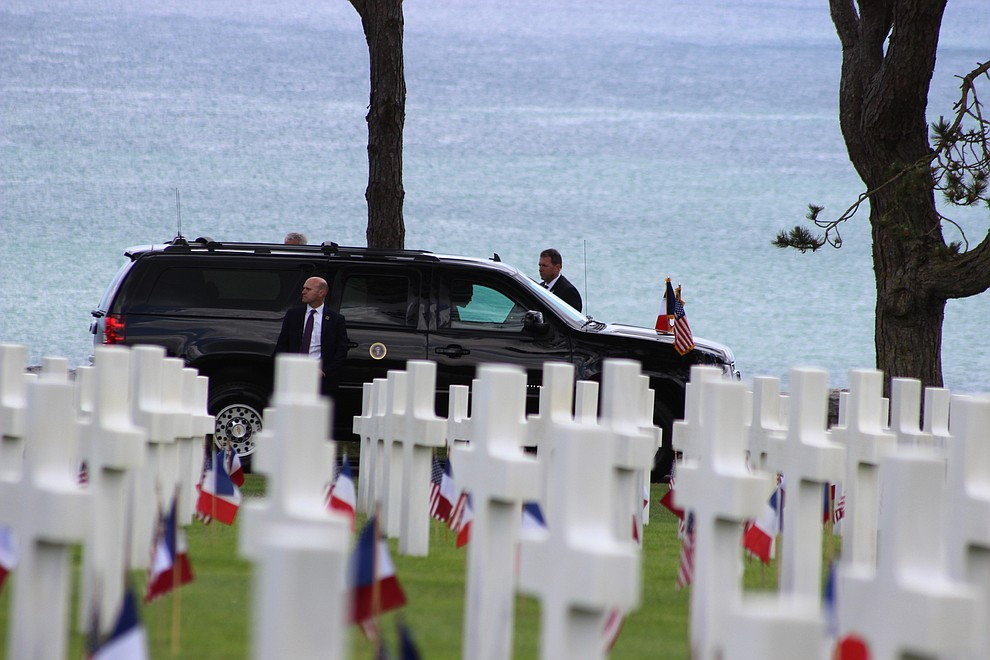 The Daily Courier was honored to have French journalist Louis-Cyril Tharaux at the ceremonies commemorating the 75th anniversary of the D-Day invasion on the beaches of Normandy France. Here is a visual history of what he saw Thursday, June 6, 2019.