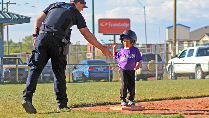 Little League t-ball gets their stride
