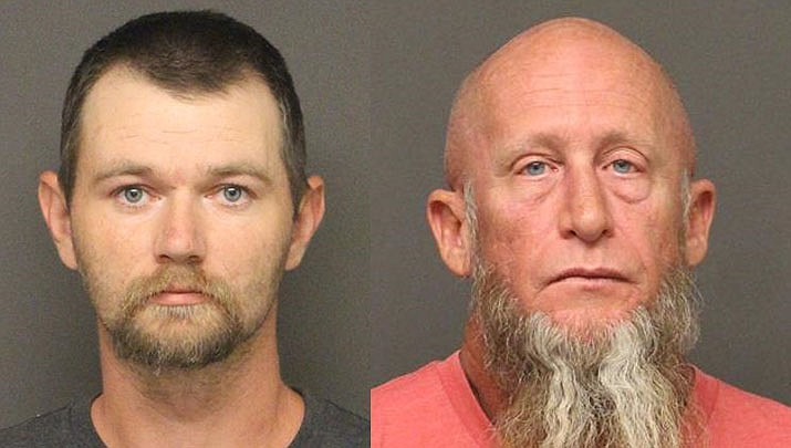 Jason Duran Cooper and Brian Scott Reaves (MCSO photo)