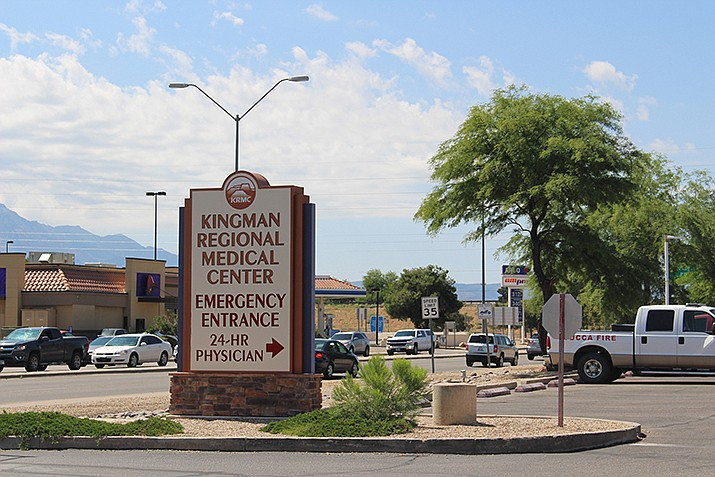 Kingman Regional Medical Center released a statement Friday saying its website could have been hacked and certain patient information made available. The website has been down since April 8. (Photo by Agata Popeda/Daily Miner)