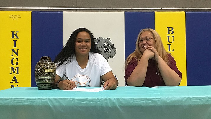 Kearra Tauta is off to California to continue her basketball career at Copper Mountain College in Joshua Tree. (Photo by Beau Bearden/Daily Miner)