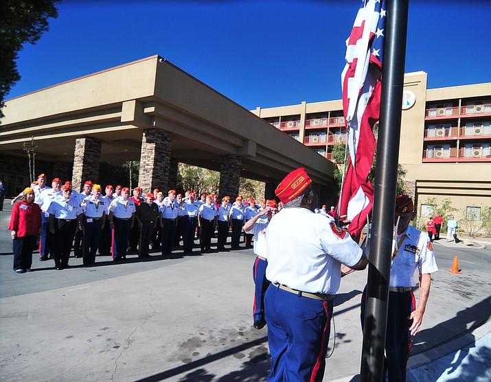Marine Corps League flag raising | The Daily Courier
