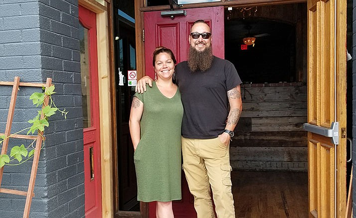This Dudes Food LLC owners Melissa and Zach Hayden. (Courtesy)