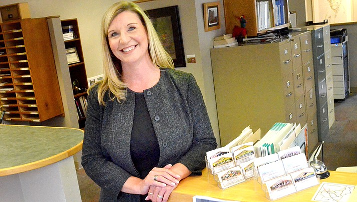 New Clarkdale Town Manager Tracie Hlavinka. VVN/Vyto Starinskas
